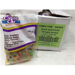 Cable Car Sour Soothers (12 x 150g)