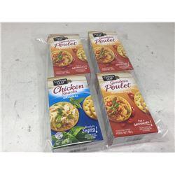 Clover Leaf Chicken Snacks