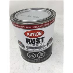 Krylon Rust Protector Gloss Enamel- Gloss Cherry Red (946ml)