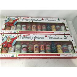 12 Cocktails of Christmas Drink Mixers (2x)
