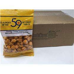 59th Street Cheddar Cheese Caramel Corn (12 x 80g)