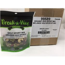 Break-a-Way Organic Goji Sport Mix (12 x 85g)
