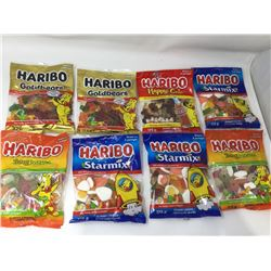 Lot of Assorted Haribo Gummies (8 x 175g)