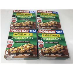 Nature Valley Sweet & Salty Dark Chocolate Nut Bars (4 x 6)