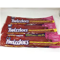 Twizzlers Pull-n-Peel Cherry Extra Long (3 x 652g)