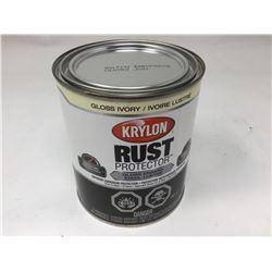 Krylon Rust Protector- Gloss Ivory (946ml)