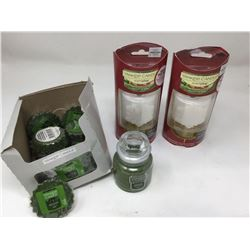 Assorted Yankee Candle Products