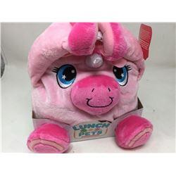 Lunch Pets Plush Lunchbox- Unicorn