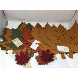 Lot of Autumn Table Decor
