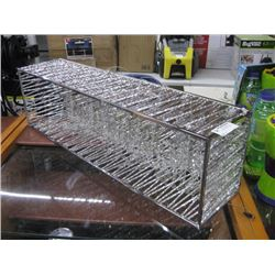 LARGE CRYSTAL STYLE LIGHT FIXTURE
