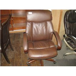 LAZYBOY BROWN OFFICE CHAIR