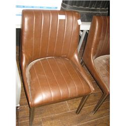 BROWN SIDE CHAIR