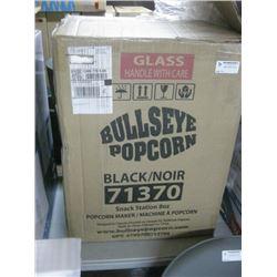 BULLSEYE POPCORM MAKER BLACK 71370