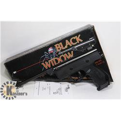 NEW BLACK WIDOW .177  CALIBER AIR PISTOL