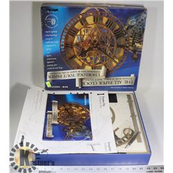 NEW ALL PAPER CLOCK KIT (WORKING CLOCK WHEN BUILT)