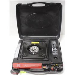 PORTABLE GAS STOVE IN CASE