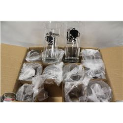 CASE OF NEW 20.5OZ MIXING GLASSES