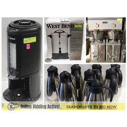 FEATURED LOTS: COFFEE MAKERS & SERVICE EQUIPMENT