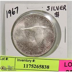 1967 CDN SILVER DOLLAR