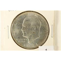 1971-S IKE SILVER DOLLAR BRILLIANT UNC