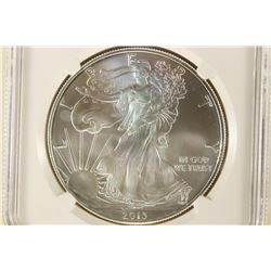 2013 AMERICAN SILVER EAGLE NGC MS70 FIRST RELEASES