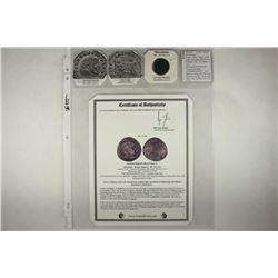 306-312 A.D. MAXENTIUS ANCIENT COIN (FINE)