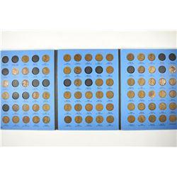 PARTIAL 1909-1940 LINCOLN CENT ALBUM 71 COINS