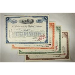 4 ASSORTED BALITIMORE AND OHIO RAILROAD COMPANY
