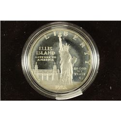 1986-S US STATUE OF LIBERTY PROOF SILVER DOLLAR