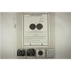 217-218 A.D. MACRINUS ANCIENT COIN (FINE)