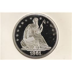 LIMITED EDITION SILVER MEDAL COMMEMORATING THE