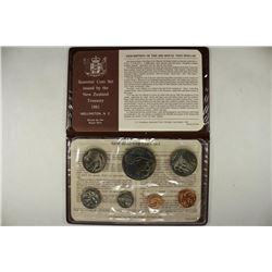 1981 NEW ZEALAND SOUVENIR COIN SET UNC