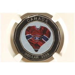 2009 CANADA MONTREAL CANADIANS JERSEY DOLLAR