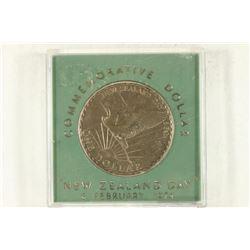 1974 NEW ZEALAND COMMEMORATIVE DOLLAR