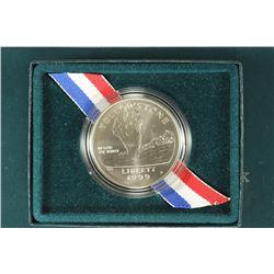 1999 YELLOWSTONE NATIONAL PARK UNC SILVER DOLLAR