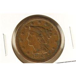 1853 US LARGE CENT (FINE)