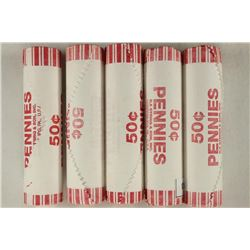 5-50 CENT ROLLS OF 2009-P BIRTH & EARLY CHILDHOOD