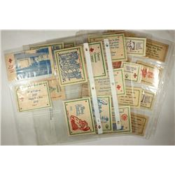 26 ASSORTED CHRISTMAS / NEW YEARS WOODEN NICKELS