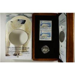 2004 CANADA THE PROUD POLAR BEAR $2 LIMITED