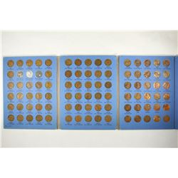COMPLETE 1941-UP LINCOLN CENT ALBUM WITH 90 COINS