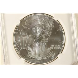 2014 AMERICAN SILVER EAGLE NGC MS70 1ST RELEASES