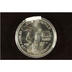 1983-P US OLYMPIC DISCUS THROWER UNC SILVER DOLLAR