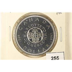 1964 CANADA CHARLOTTETOWN SILVER DOLLAR