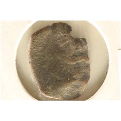 1045-1353 A.D. BYZANTINE CUPPED COIN JESUS CHRIST