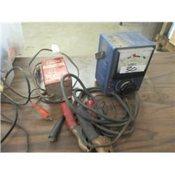 Delco Battery Load Tester, & Carter Battery Charger