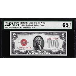 1928E $2 Legal Tender Note Fr.1506 PMG Gem Uncirculated 65EPQ