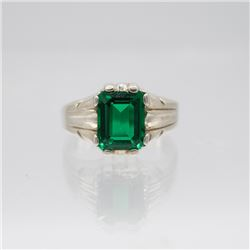 Lab Created 5.00ct VVS1 Emerald Ring
