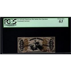 50 Cent Third Issue Fractional Note PCGS 63