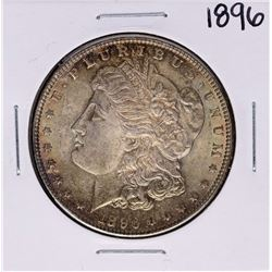 1896 $1 Morgan Silver Dollar Coin Amazing Toning