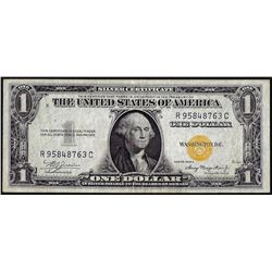 1935A $1 North Africa WWII Emergency Issue Silver Certificate Note